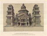 Portail de Temple, (The Vatican Collection) Art Print