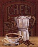 Cafe Mundo I Art Print