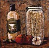 Rustic Kitchen I Art Print