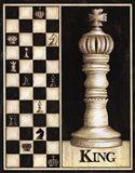 Classic King - Mini Art Print