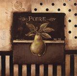 Poire - Square Art Print