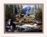 Rocky Mountain Deer Art Print