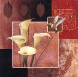 Calla Lily/Butterfly Art Print
