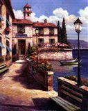 Mediterranean Villa I Art Print