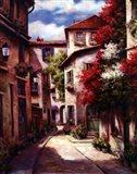 Mediterranean Villa II Art Print