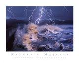 Nature's Majesty-Waves Art Print