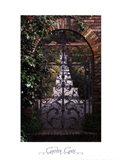 Garden Gate - Filoli, CA Art Print