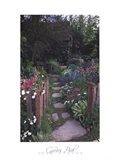 Garden Path - Chelsea Flower Show, London Art Print