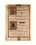 Polyphonic Hymns Magnificats (Bass) Art Print