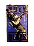 Holy Blues Art Print