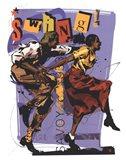 Swing I Art Print