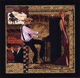 Jazz Piano - Petite Art Print