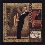 Jazz Sax - Petite Art Print