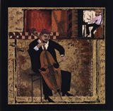 Jazz Cello - Petite Art Print
