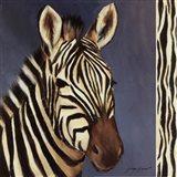 Exotic Zebra - Mini Art Print