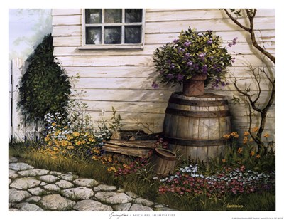 Springtime Art Print by Humphries