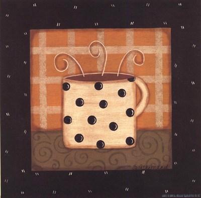 Coffee Mug III Art Print by Allemand