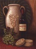 Fresco Vineyard I Art Print