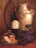 Fresco Vineyard II Art Print