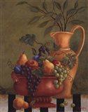 Fresco Fruit II Art Print