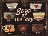 Soup of the Day Art Print