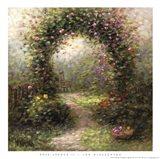 Rose Arbour II Art Print