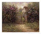 Rose Gate Art Print