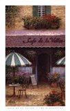 Cafe De La Vallee Art Print