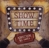 Show Time Art Print