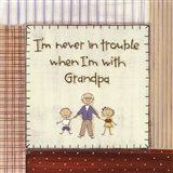 I'm Never in Trouble.. Art Print