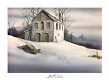 Gentle Snow Art Print