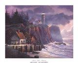 Harbor Light Hideaway Art Print