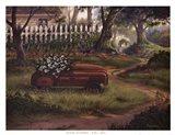 Hero's Garden Art Print