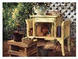 Poetic Gardens Art Print