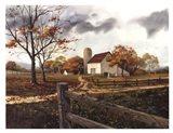 Autumn Cascade - Autumn Barn Art Print