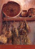 Apache Basketry Art Print