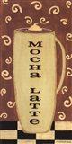 Mocha Latte Art Print