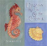 Dreams As Big As The Ocean (Detail 1) Art Print