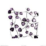 Glass Hearts Art Print
