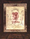 Lettres Parisienne Art Print