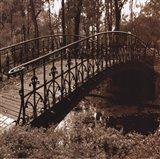 Wrought Iron Bridge II Art Print