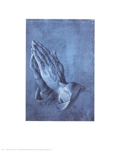 Praying Hands, c.1508 Art Print by Durer
