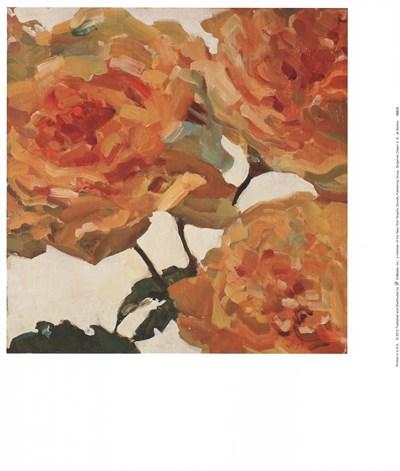 Tangerine Dream II Art Print by Barton
