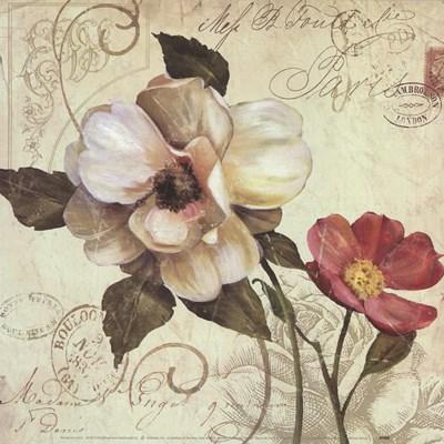 Fleurs De Paris 1 Art Print by Franklin