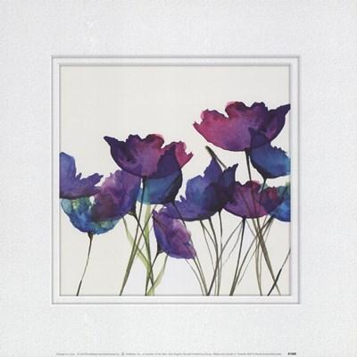 Watercolor Garden 2 Art Print by Evans