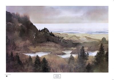 Oregon Coast, 1985 Art Print by Stonington