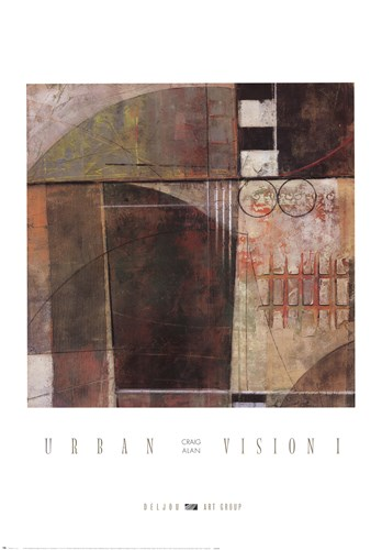 Urban Vision I Art Print by Alan