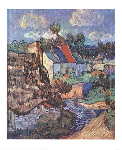 Houses at Auvers, c.1890