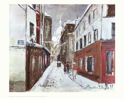 Sacre-Coeur in Winter