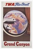 TWA to the Grand Canyon Art Print